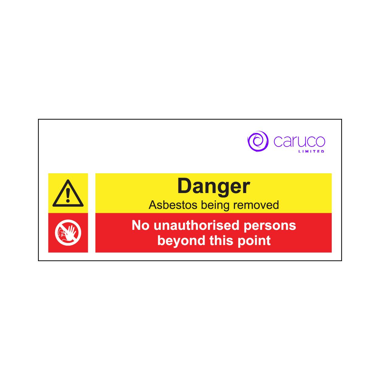 Prohibition/Danger Signage